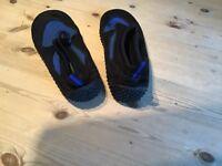 Wet shoes. Size i