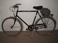 """Classic/Vintage/Retro Raleigh Chiltern 23.5"""" Commuter/City/Town Bike"""