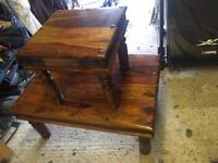 Sheesham wood tables