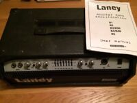 Laney Richter R4H Bass Amplifier Head, good condition