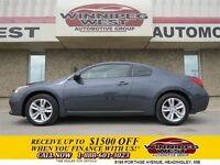2012 Nissan Altima GREY PREMIUM SPORT COUPE, LEATHER, SUNROOF, A