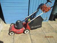 Lawn Mower Electric Mountfield