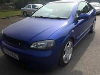 2003 vauxhal astra coupe bertone 2.2 16v modified 1 off show car immaculate low mls subwoofer wow
