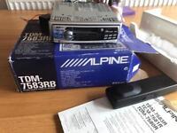 Alpine radio Cassette i