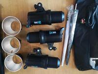 Photography Studio Light DE300 Flash Kit
