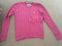 Worn once Jack Wills knit jumper UK size 10