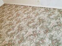 Axminster wool carpet. 2.8m x 4.4m