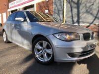 BMW 1 Series 2009 2.0 120d SE 5 door FSH, 3 MONTHS WARRANTY, BARGAIN
