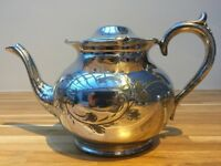 Silver Plated Decorative Teapot EPBM