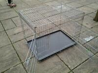 Extra Large Dog Cage With Tray