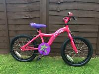 Girls Apollo star bike