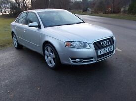 2005 55 AUDI A4 2.0 TDI 4 DOOR SALOON 6 SPEED MANUAL