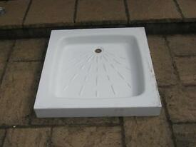 Square White Shower Tray