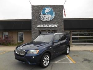 2013 BMW X3 xDrive28i! LOOK PANO ROOF! $175.00 BI-WEEKLY+TAX!