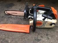 Stihl ms200 top handle saw