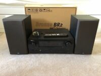 Denon AVR-1910 and Monitor Audio Bronze BR2