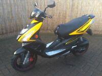 TGBr50x sports scooter