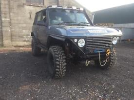 Bobtail Land Rover
