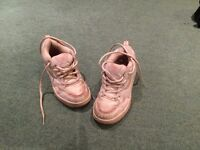 UK Size 4 Heeleys - White/Pink - Used