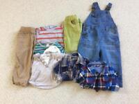 Boys clothes bundle, age 12-18 months