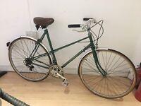 Bromwich retro road bike (reynolds tubing)