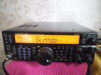 Kenwood TS-590S with Kenwood MC60 Desk mic