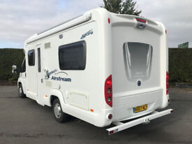2007 Fiat Ace Airstream 680 FB Motorhome 2.3 130bhp PAS