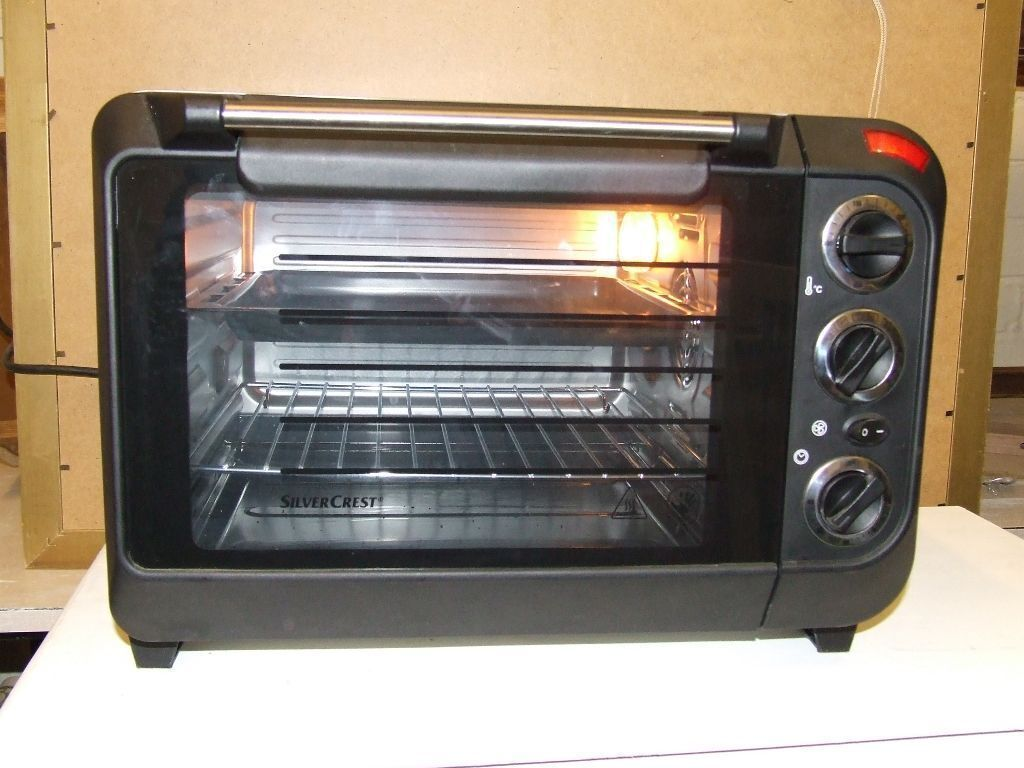 Silvercrest Benchtop Electric Oven And Grill In Consett