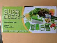 Super Dicer kitchen cutter, chopper, slicer grater
