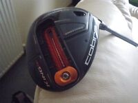 COBRA GOLF KING F6+ DRIVER. BOUGHT NEW JANUARY 2017. BLACK. RIGHT HANDED, WITH KEY AND SOCK.