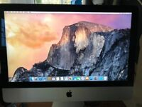 "Apple IMAC 21.5"" 2.7 Ghz Intel Core i5 with 500Gb SSD Hard Drive, 8Gb Ram in perfect working order"
