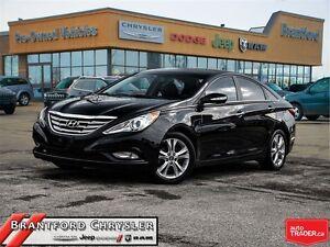 2011 Hyundai Sonata Limited~Leather~Sunroof~Heated Seats~Bluetoo