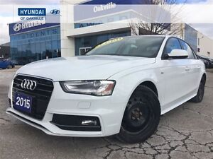 2015 Audi A4 2.0L KOMFORT PLUS | AWD | LEATHER | ROOF | 2 SET T