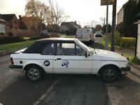 Ford escort xr3i convertible Mk3