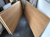 6 wooden boards. Wood, timber,