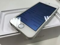 Apple iPhone SE - 64GB - Silver Edition - Network O2 - ONLY £135 - Boxed -