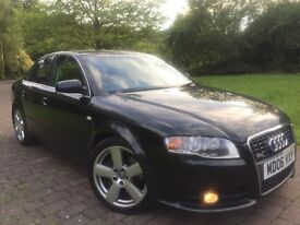2006 Audi A4 2.0 Turbo QUATTRO 200 Bhp Sline* Bose Sound system* 6 cd changer*6 Gears *4 wheel drive