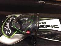 New callaway epic driver 9.0°