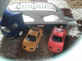 childs toy transporter