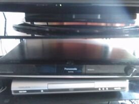 Panasonic DVD player and speakers