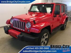 2016 Jeep WRANGLER UNLIMITED Sahara- Almost brand new!
