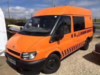 Ford Transit T280 Camper / Race Van conversion