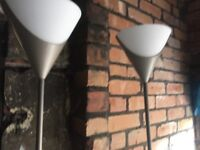 The grey lamps for sale
