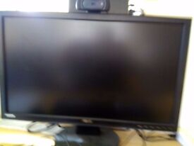 """ASUS VW247H 24"""" Widescreen LED LCD Monitor, built-in Speakers"""
