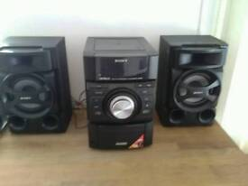 Sony cd / radio / ipod hifi