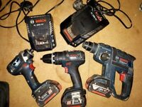 Bosch cordless kit