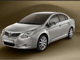 Toyota avensis T4 2.0 d4d diesel new model one owner 60000 ful history long mot full leather