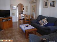 Costa Blanca, Spain, ground floor apt, wi-fi, English TV, a/c, 2 patios JUNE £265 4 persons (SM069)
