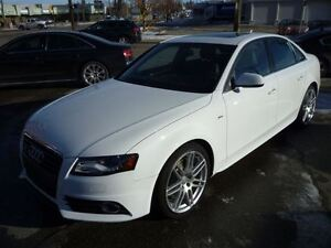 2012 Audi A4 2.0T Premium S LINE/AWD/ALLOYS/LEATHER/PANO ROOF/