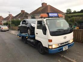 Toyota Dyna recovery truck Ford transit swaps